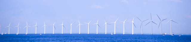 Middelgrunden wind farm off Copenhagen - 50% cooperatively owned
